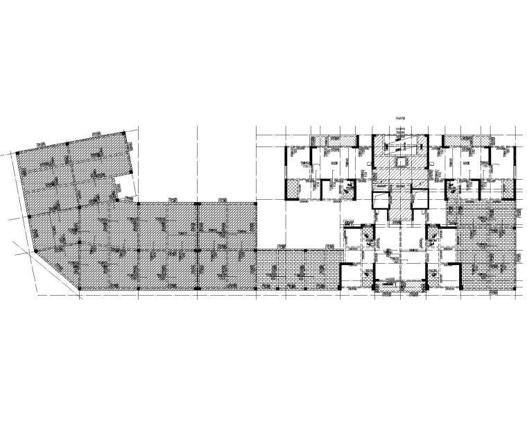 25层框架剪力墙住宅含人防地下室结施_2