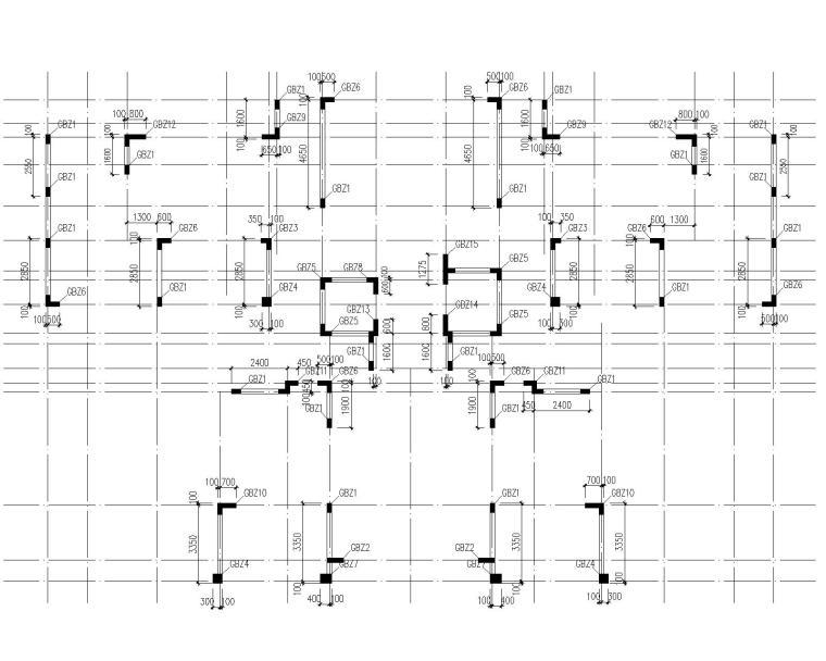 25层框架剪力墙住宅含人防地下室结施_5