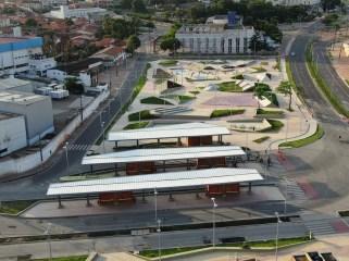 巴西圣路易斯巴士总站和城市改造