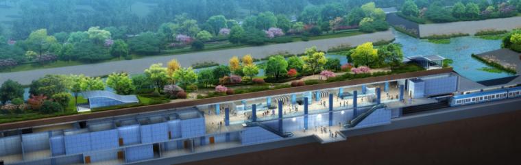 BIM工程协同之地铁站项目_1