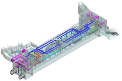 BIM工程协同之地铁站项目_3