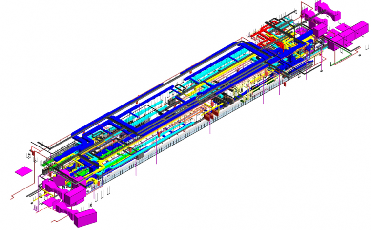 BIM工程协同之地铁站项目_14