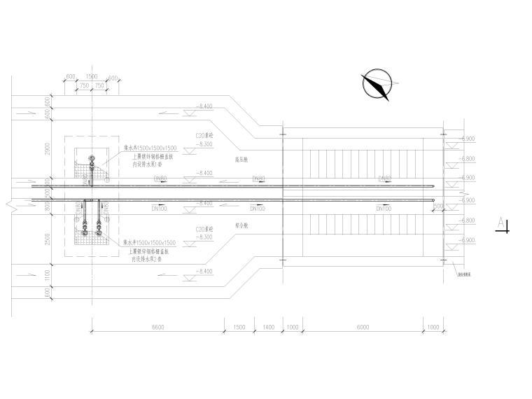 城市主干道市政化改造工程管廊消防图_2