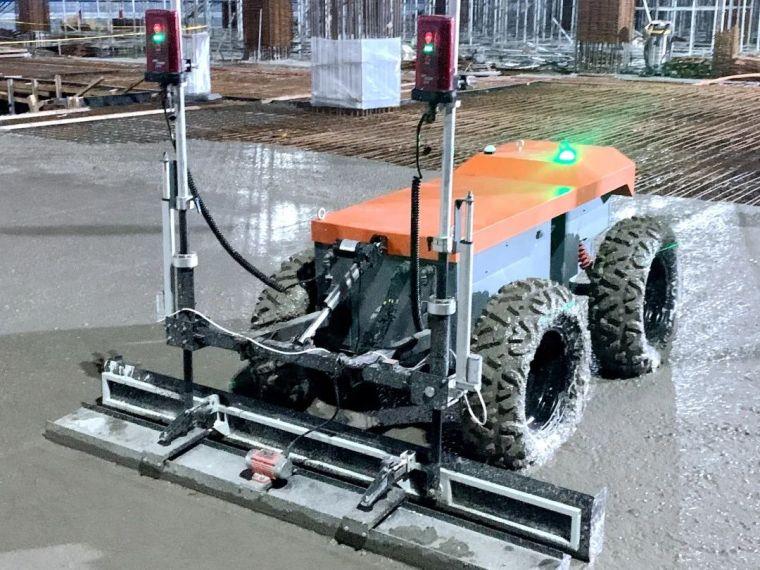找平、收面、压光:机器人PK工人,完胜!_4