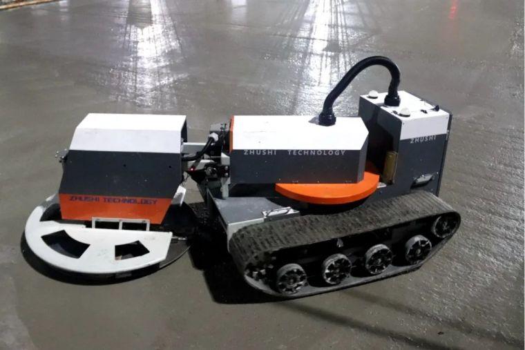 找平、收面、压光:机器人PK工人,完胜!_6