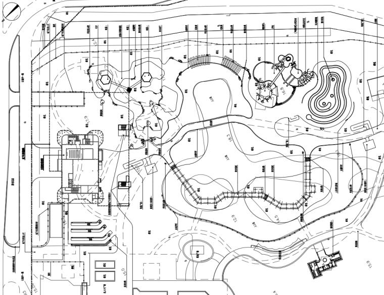 [广东]现代风儿童公园园林工程施工图设计_6