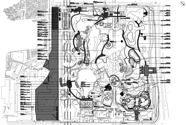 [广东]现代风儿童公园园林工程施工图设计_4