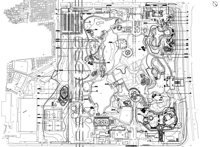 [广东]现代风儿童公园园林工程施工图设计_1