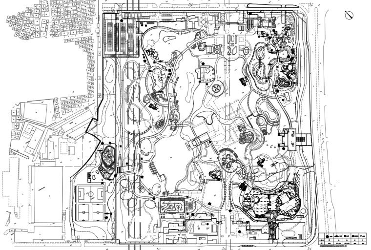 [广东]现代风儿童公园园林工程施工图设计_8