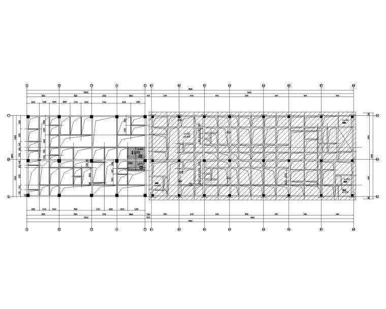 四层框架结构人民医院综合内科楼扩建结施_1