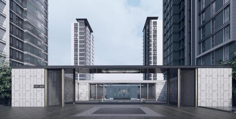 江苏国际现代化-中央商务住宅建筑方案2020_10