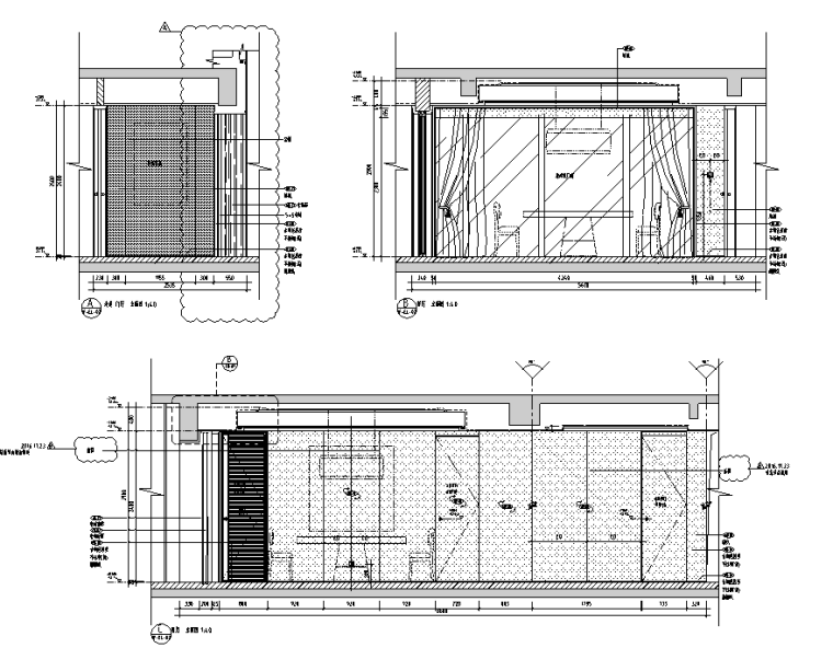 公共区兼售楼处+交楼标准展示样板房施工图_2
