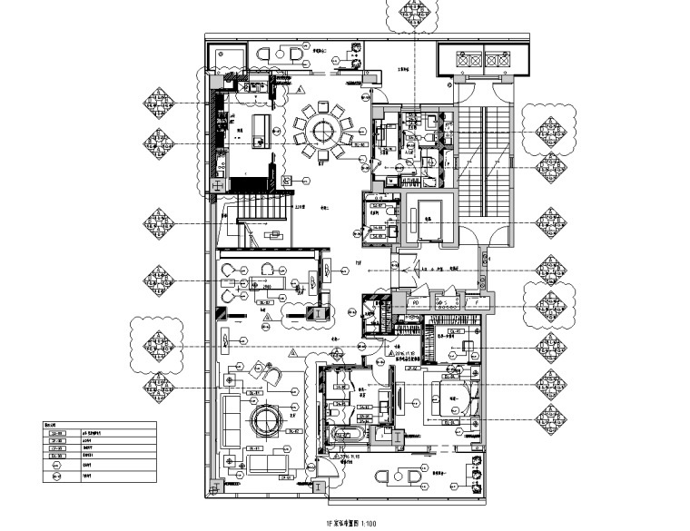 公共区兼售楼处+交楼标准展示样板房施工图_1