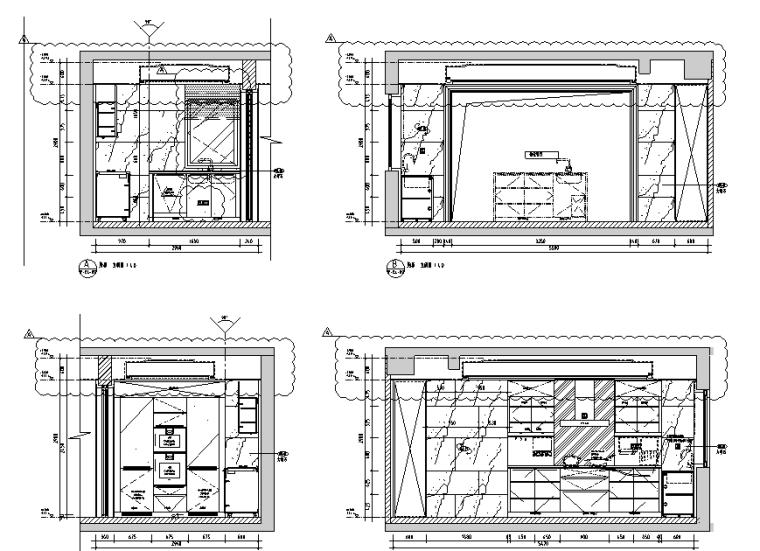 公共区兼售楼处+交楼标准展示样板房施工图_3
