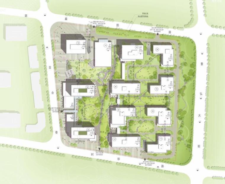 [北京]高层庭院式公寓设计方案PDF2018_8