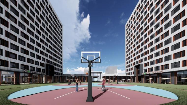 [北京]高层庭院式公寓设计方案PDF2018_7