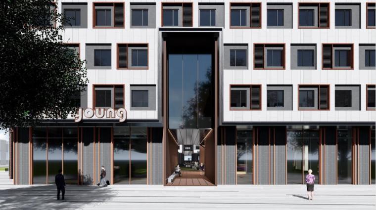 [北京]高层庭院式公寓设计方案PDF2018_1