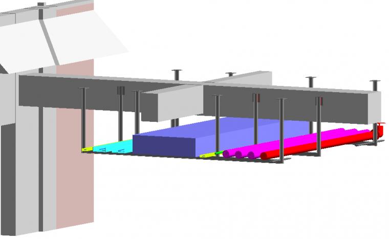 商办楼地下车库项目BIM综合应用_88