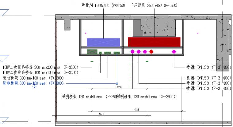 商办楼地下车库项目BIM综合应用_90