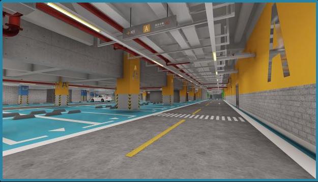 商办楼地下车库项目BIM综合应用_26