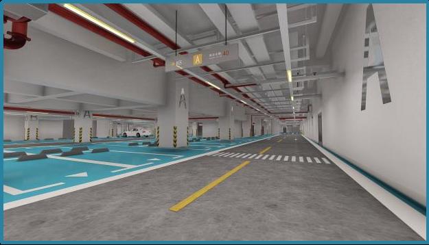 商办楼地下车库项目BIM综合应用_27