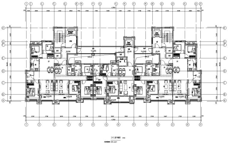[河北]16套剪力墙结构住宅户型图2019_1