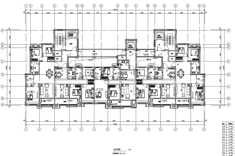 [河北]16套剪力墙结构住宅户型图2019_6