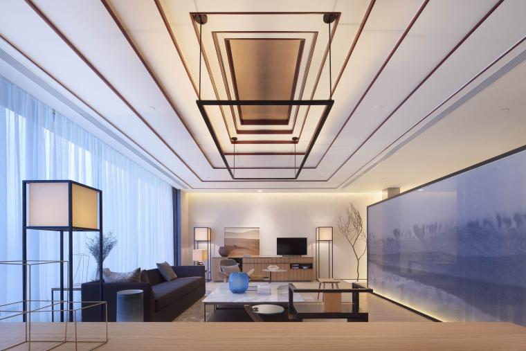新中式江南风民宿室内CAD施工图+SU模型_7