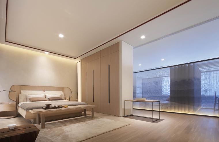 新中式江南风民宿室内CAD施工图+SU模型_9