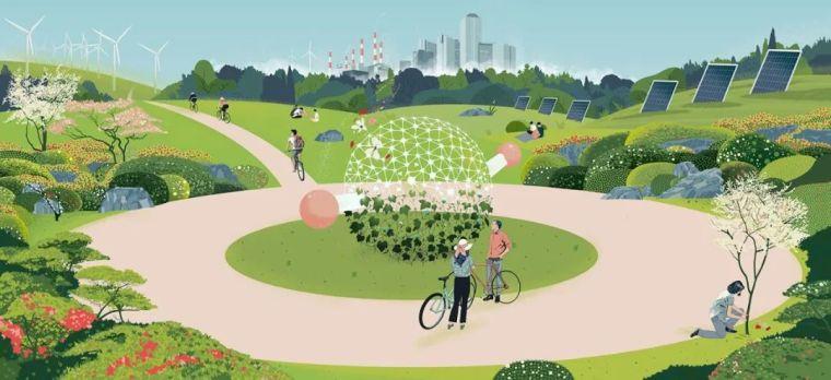 碳中和视角下的景观设计思维与应用_1