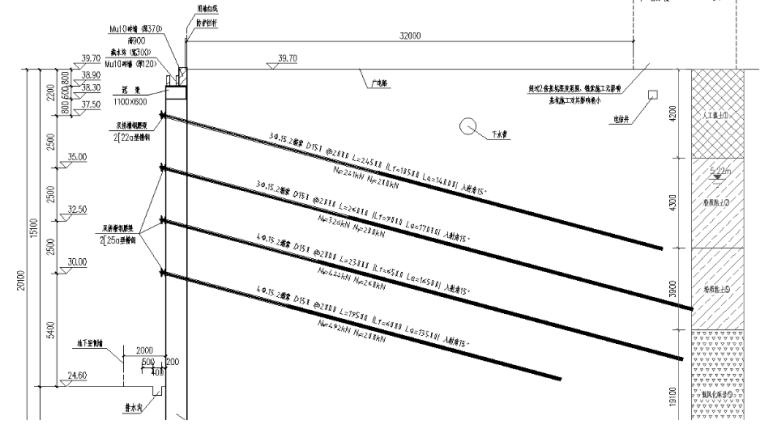 [国企]广场改造基坑开挖与支护方案2020_2