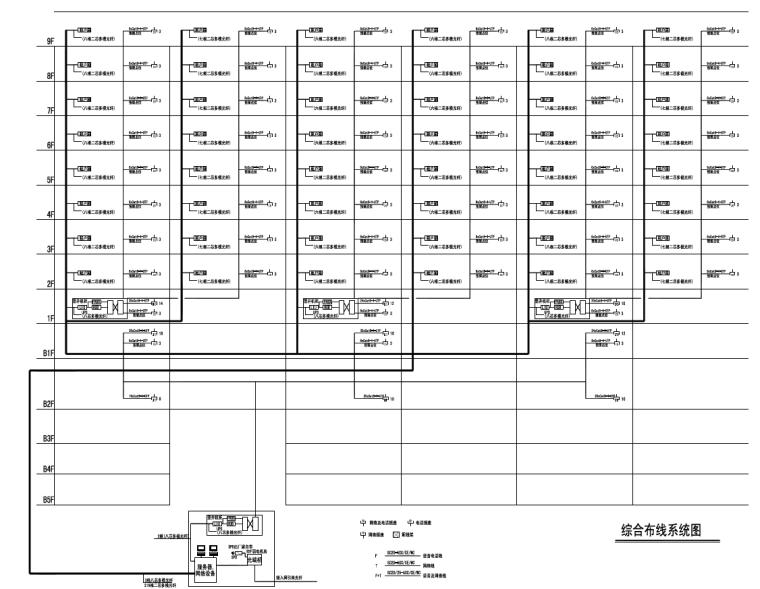 知名院丨北京王府井某办公楼电气施工图_6