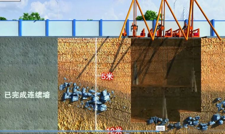8个深基坑支护方法及支护施工现场图一览_2