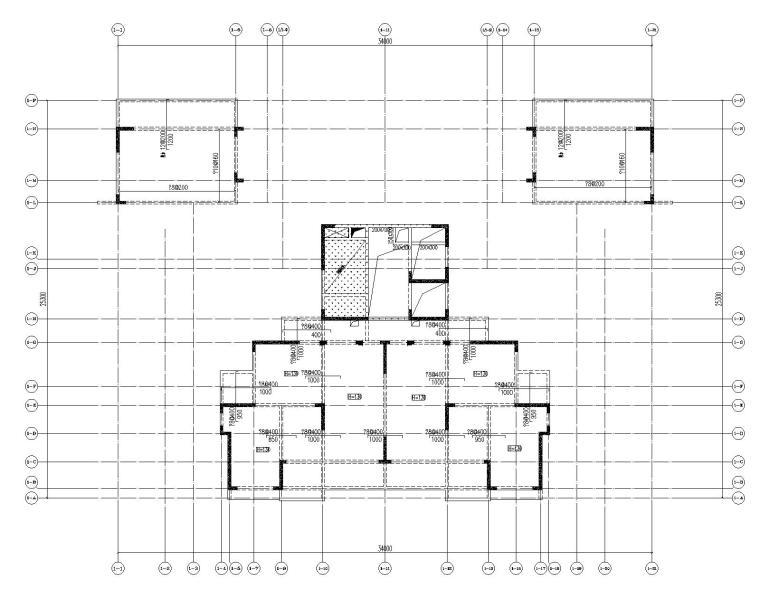 高层剪力墙结构综合体结构施工图2020+500P_10