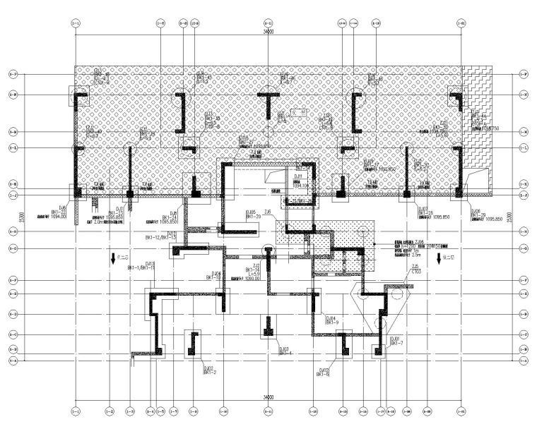 高层剪力墙结构综合体结构施工图2020+500P_1