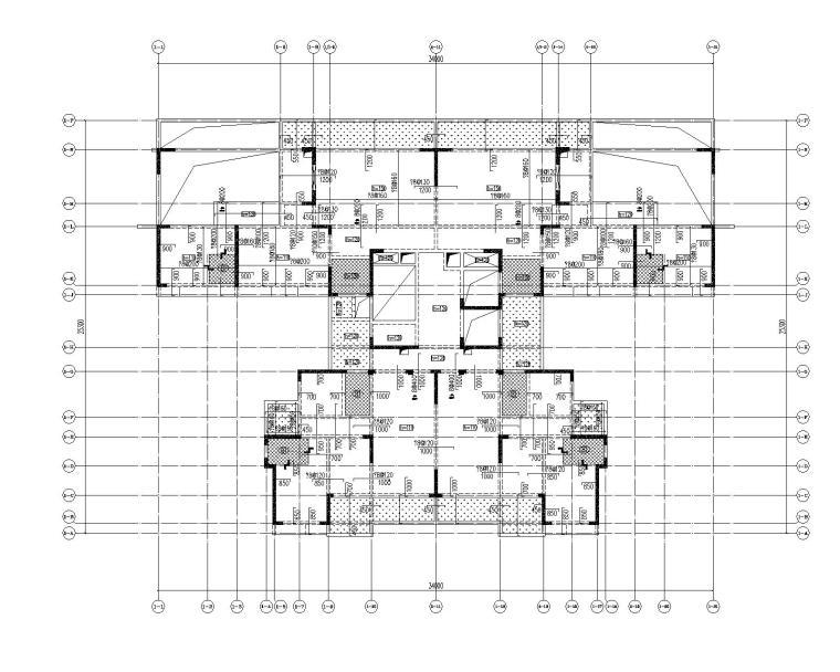 高层剪力墙结构综合体结构施工图2020+500P_9