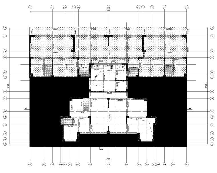 高层剪力墙结构综合体结构施工图2020+500P_3