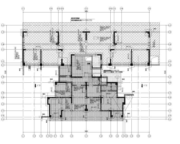 高层剪力墙结构综合体结构施工图2020+500P_2