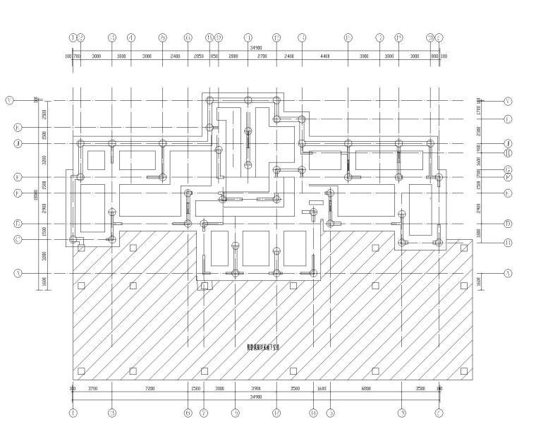 钢混框架剪力墙住宅结构施工图450p_4