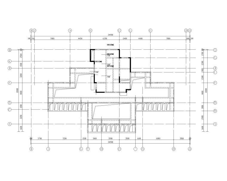 钢混框架剪力墙住宅结构施工图450p_8