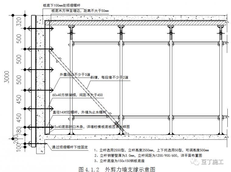 新型盘扣式支架搭设施工技术要点总结!_34