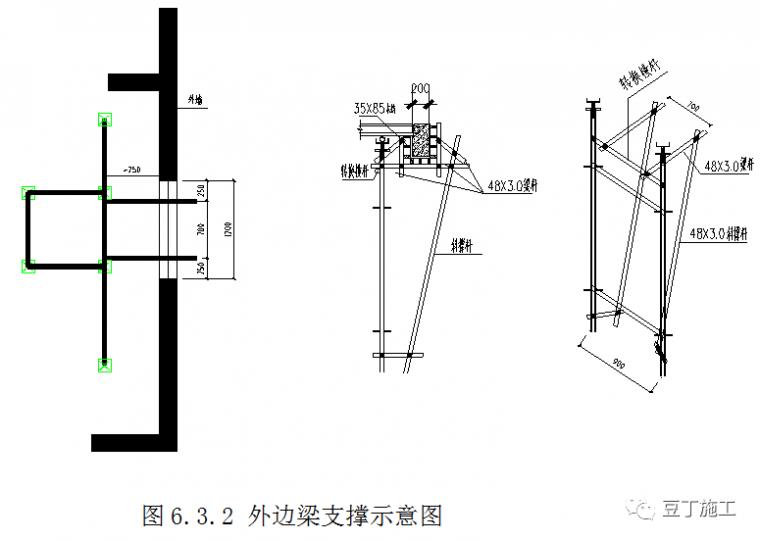 新型盘扣式支架搭设施工技术要点总结!_49