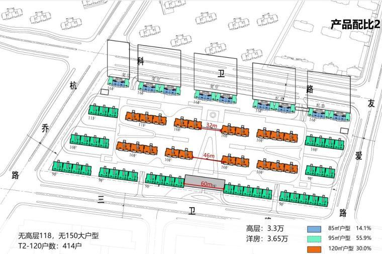 [浙江]现代雅致韵律-高层多层住宅建筑方案_1