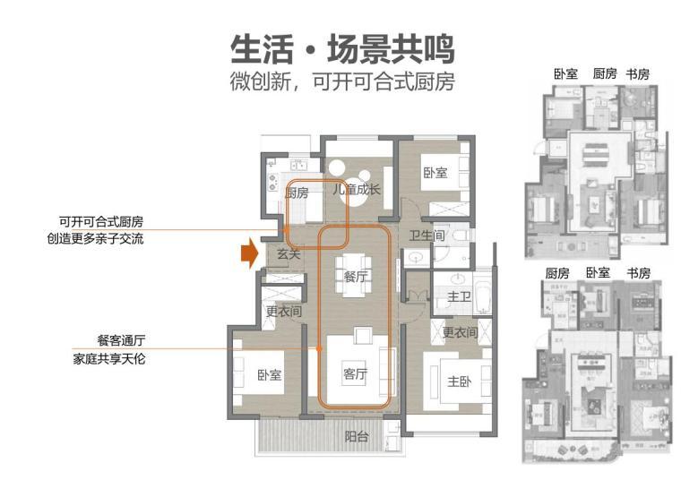 [浙江]现代雅致韵律-高层多层住宅建筑方案_7