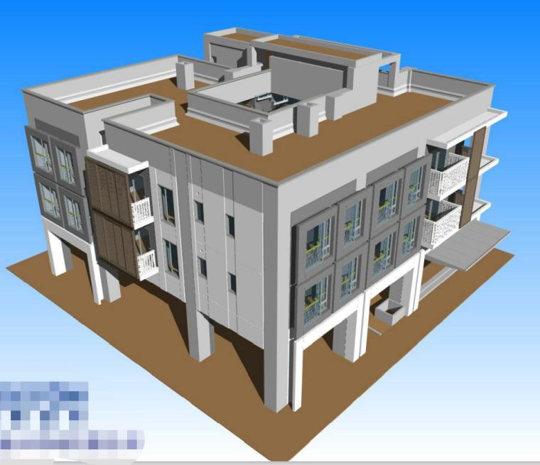 二层小别墅BIM案例分享_1