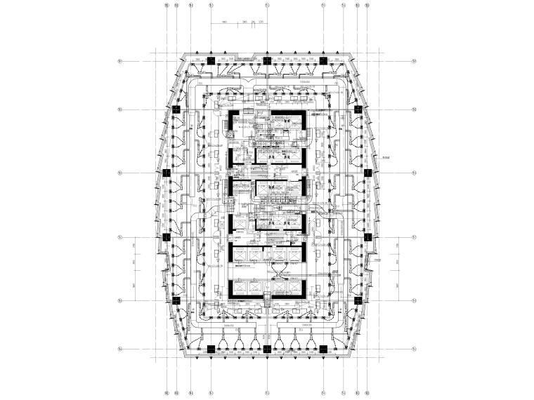 湖北53层超高层大型商业综合体暖通施工图_2