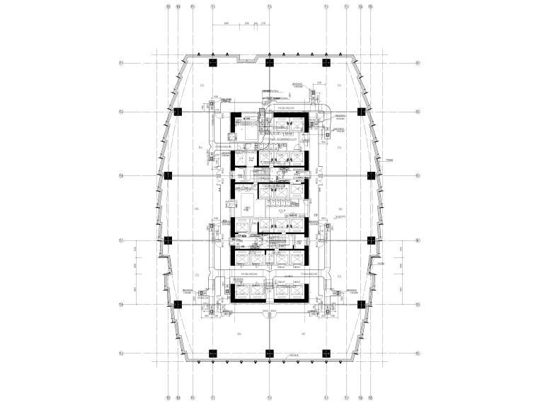湖北53层超高层大型商业综合体暖通施工图_1