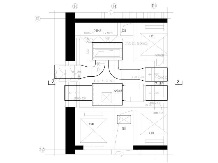 湖北53层超高层大型商业综合体暖通施工图_12
