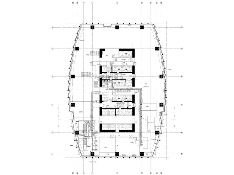 湖北53层超高层大型商业综合体暖通施工图_4