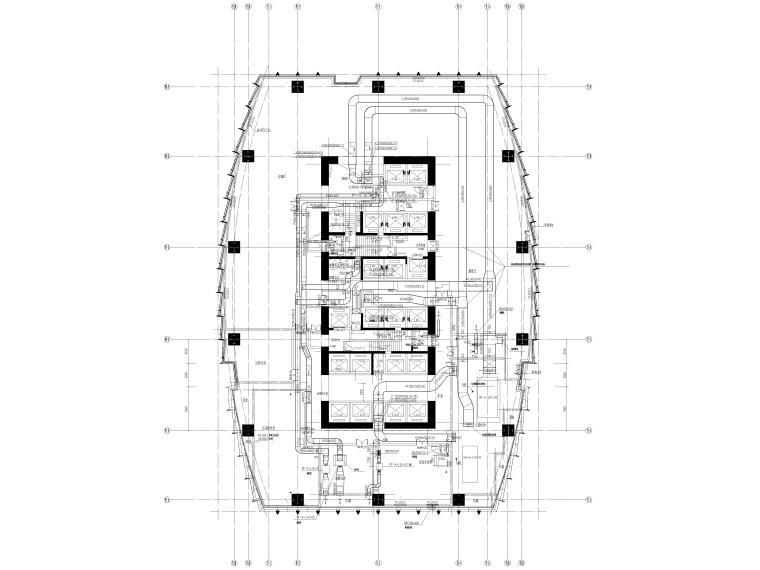 湖北53层超高层大型商业综合体暖通施工图_5
